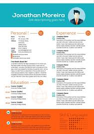 creative professional resume templates creative professional resume listmachinepro