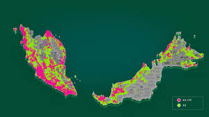 Internet Coverage Map 1network Maxis