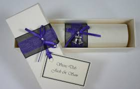 scroll wedding invitations wedding invitation scrolls for weddings and other events