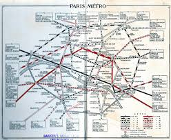 Metro Paris Map by Historical Map U201cblue Guides Short Guide To Paris U201d Transit Maps