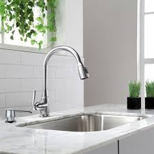high flow kitchen faucet kraus single handle stainless steel high arch kitchen faucet with