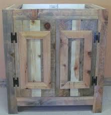 Rustic Bathroom Furniture Reclaimed Wood Rustic Bathroom Vanity Barn Wood Furniture