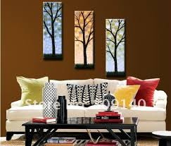 home decoration painting free shipping abstract tree beauty decoration oil painting canvas