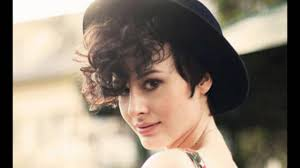 pixie haircut for thick curly hair curly pixie haircut youtube