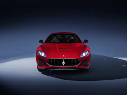 maserati granturismo red maserati gran turismo luxury car red car 4k wallpaper hd image