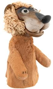 lion puppet hake s lunch with soupy sales tv show used pookie the lion puppet