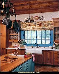 Country Kitchen Theme Ideas Blue Kitchen Theme Ideas Quicua