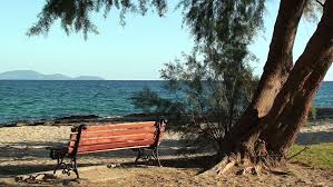 Turkish Bench Turkish Breakfast At Beach By Sea Fethiye Turkey Stock Footage