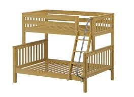 Top Kids Twin Over Full Bunk Beds  L Shaped Beds Maxtrix - Right angle bunk beds