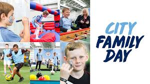 manchester city family day manchester city fc