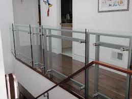 glass balcony railing home u2014 railing stairs and kitchen design