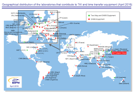 Detailed World Map Standard Time by Comparison Of Jst