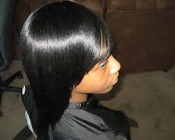 upside down v shape haircut 30 lovely black weave hairstyles slodive