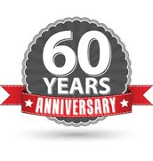 celebrating 60 years birthday 60 year birthday celebration royalty free vector image