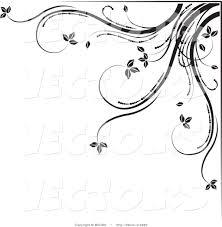 swirl corner border clip art 62