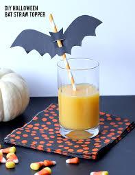 alice and loishalloween bat straw topper