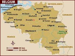 belgium and netherlands map map of belgium