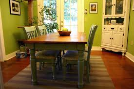 painted dining room table green dining room chair covers 16 trendy kitchen chairs green