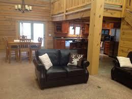 modern log cabin on 3 acres great locatio vrbo