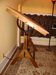 vintage wood drafting table mayline oak drafting table table designs