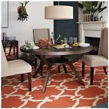 Round Rugs For Dining Room by Rug Under Kitchen Table Rug Under Kitchen Table Houzz Decorating