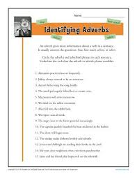 adverb lessons identifying adverbs free printable adverb worksheets