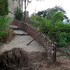 hazel hurdle 6ft x 2ft from natural fencing