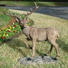 Statues For Home Decor by Deer Statues Outdoor Decor