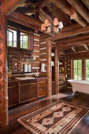Cabin Bathrooms Ideas by 1455 Best Log Cabin Images On Pinterest Log Cabins Architecture