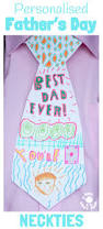 father u0027s day craft personalised necktie