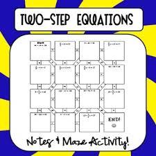 35 best multi step equations images on pinterest math teacher