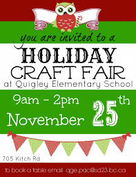 quigley annual holiday craft fair