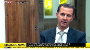Russia Assad Deliver Blow To by Were Those Children Dead At All U0027 Bashar Al Assad Describes Syrian