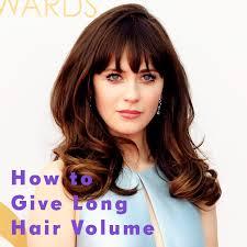 volume hair how to give hair volume hair extensions hair
