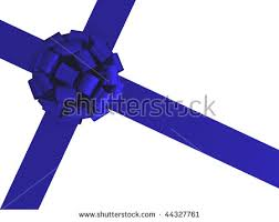 gift wrap bows blue ribbons bow gift wrapping on stock illustration 114071497