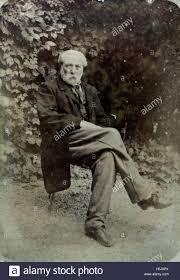 Chair In Garden Vintage Portrait Of An Man Sitting On A Chair In Garden