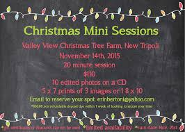 christmas mini sessions at valley view christmas tree farm the