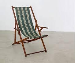Vintage Wooden Chair Vintage Deck Chair