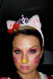 unique costume makeup hello kitty halloween costume beauty
