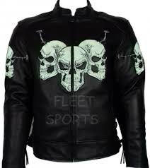Cowhide Leather Vest Motorbike Motorcycle Cowhide Leather Jacket Ce Armours