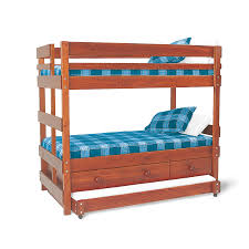 Captains End Ladder Bunk Bed With Underbed Drawers And Trundle - Replacement ladder for bunk bed