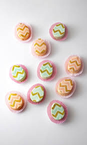 mini chevron egg cakes cakegirls