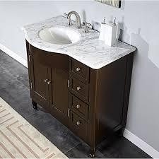 Bathroom Vanity With Offset Sink Bathroom Vanities With Sink On Top Www Islandbjj Us