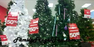 clearance christmas trees artificial christmas trees after christmas clearance at target