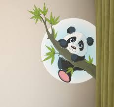 stickers panda chambre bébé stickers enfant pas chers autocollants enfants stickers bébé