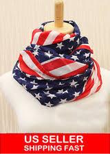 american flag scarf scarves u0026 wraps ebay