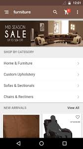 build home décor and furniture shop mobile app with ohoshop