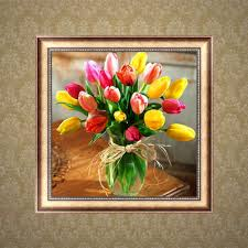 Home Decor Paintings by Paintings Tulips Reviews Online Shopping Paintings Tulips
