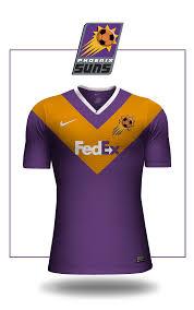 lexus club phoenix suns nba jerseys reimagined as football shirts squawka football