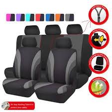housse de siege universelle car pass housse de siège auto universelle noir et gris compatible